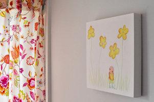 Rube & Rutje canvas - Rube bloemenveld