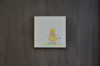 Rube & Rutje canvas - Rutje verkleed als prinses